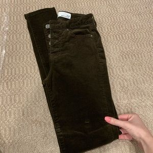 Brown Corduroy Jeans